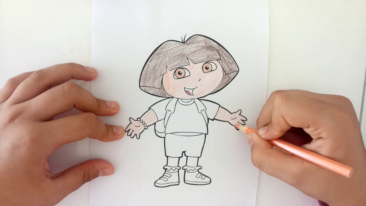 Dora Boyama Serisi Dora Boyama Oyunu Youtube