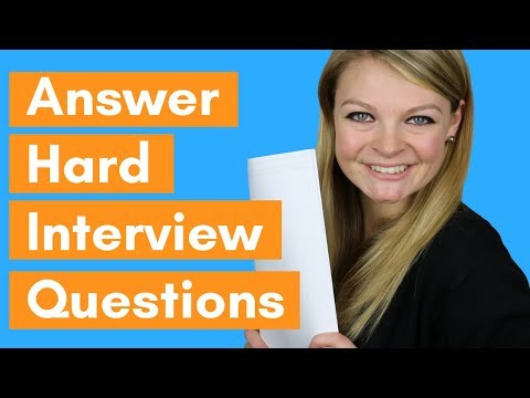#1 Secret To Answering Hard Job Interview Questions