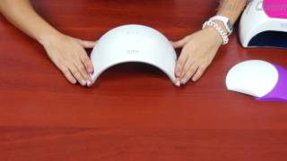 видео лампа для ногтей