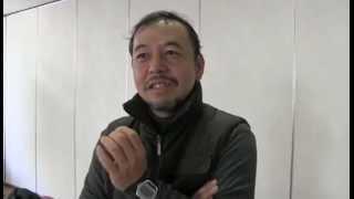 倉阪秀史氏(食とエネルギーの自給自足地域)増山麗奈撮影