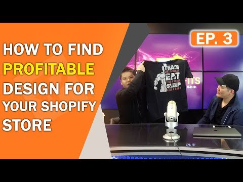 Print Profits | How To Find Profitable Design For Your Shopify Store