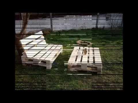 Raklap Bútor Készítés :) - YouTube