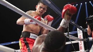 On December 14, 2013, hard-hitting Argentine Marcos Maidana defeated WBA Welterweight World Champion Adrien Broner who suffered his first career loss.