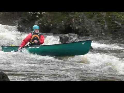 White Water Canoe Trip - River Ettrick - Jan 2010