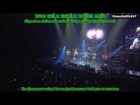 F.T. Island - I Confess [Live] (Hangul, Romanization, Eng Sub)