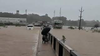 बस्तर में दो दिन से मूसलाधार बारिश, नदी-नाले पूरे उफान पर