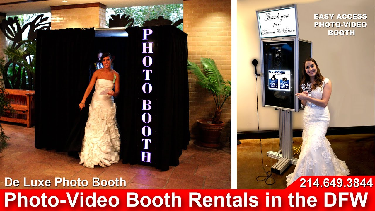 Dfw Photo Booth Al Video Enclosed Open Style You