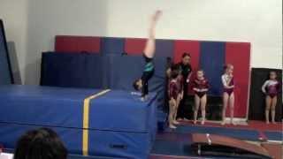 Annie the Gymnast-Level 4 Gymnastics Meet