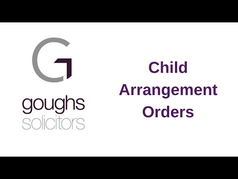 Child Arrangement Orders