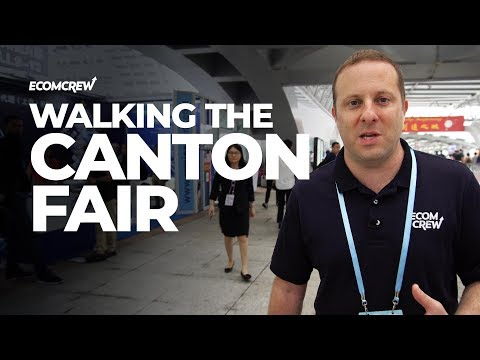 What you need to know before walking the Canton Fair