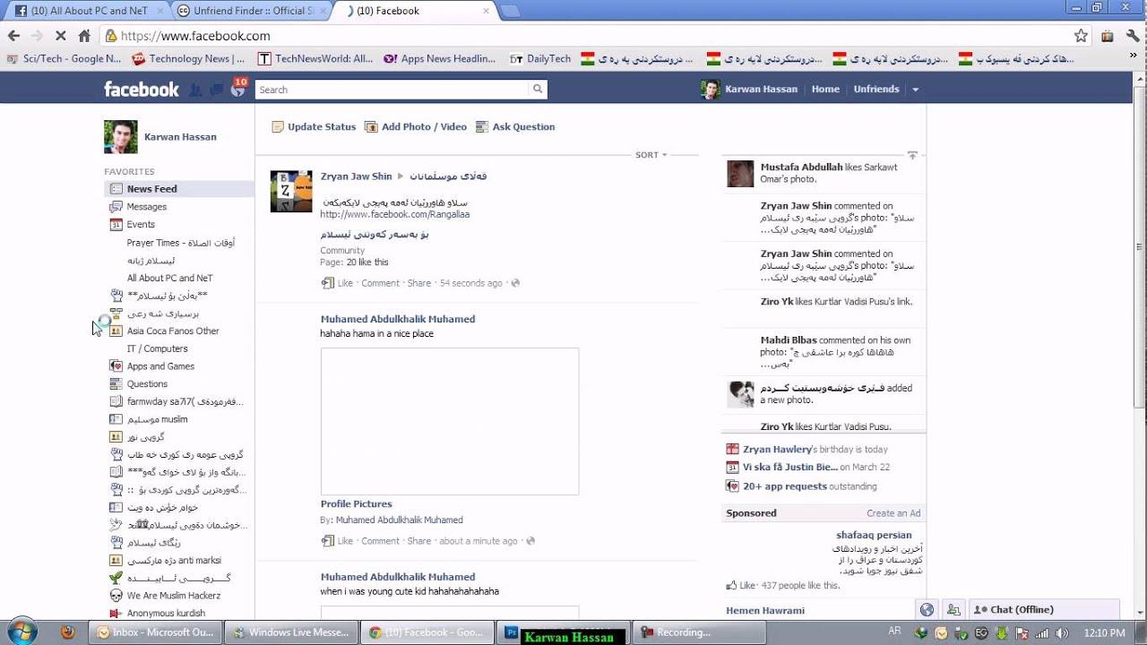 Unfriend Finder Cancel Request Facebook On Google Chrome