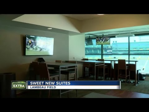 Take a look inside Lambeau Field