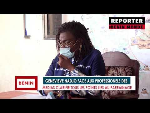 Geneviève Nadjo face aux Professionnels des Médias, clarifie tous les points liés au Parrainage