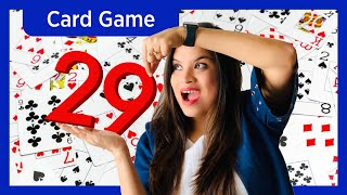 How to play 29 CARD GAME (in Hindi) |  Interesting CARD GAME for 4 Players | 28 Card Game Tutorial screenshot 1