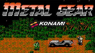[TOP NES] Metal Gear - Шедевральный Стелс