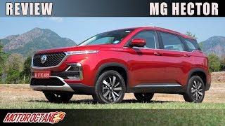 MG Hector Review | Hindi | MotorOctane