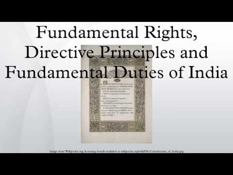 relationship between fundamental rights and directive principles of state policy in india