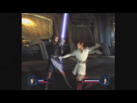 star wars episode 3: anakin skywalker vs obi wan kenobi - youtube
