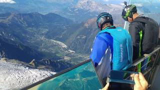 wingsuit flying mont blanc. 2016