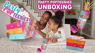 Party Popteenies Confetti Party Poppers & Surprise Dolls | UNBOXING