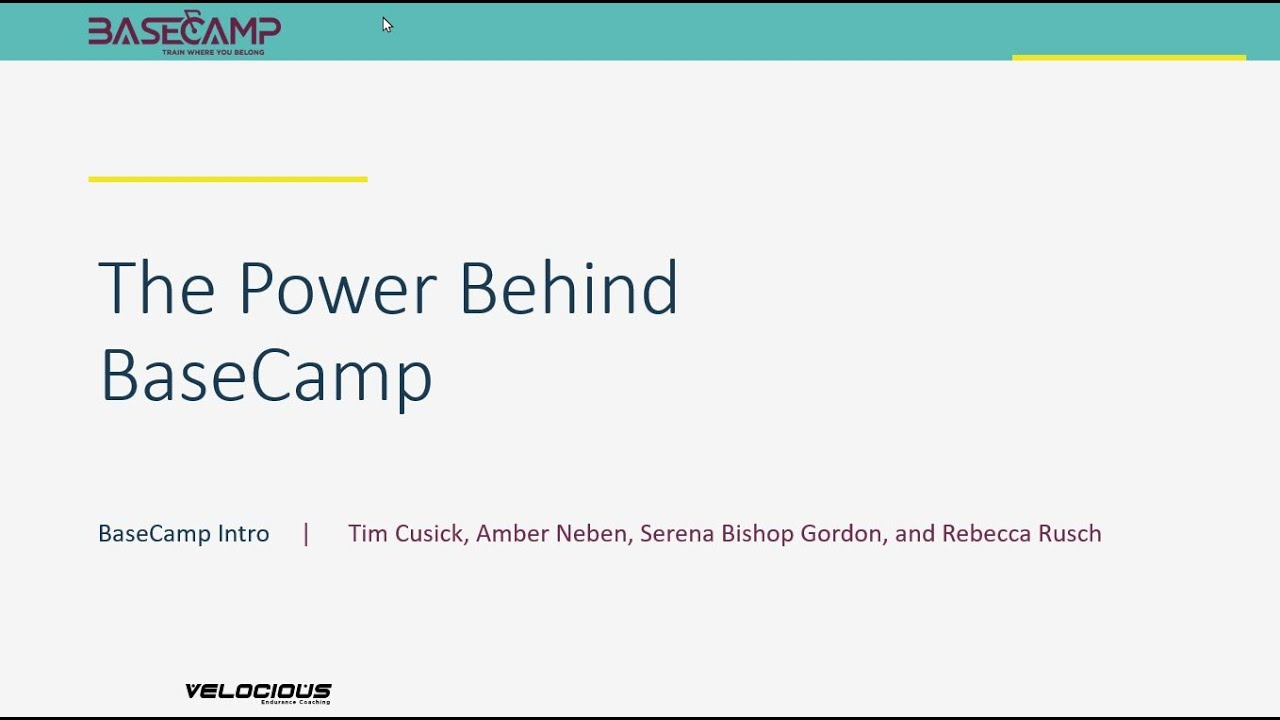 The Power Behind BaseCamp - Video