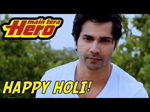 Varun Dhawan's Tips - How to 'patao' a girl on Holi!