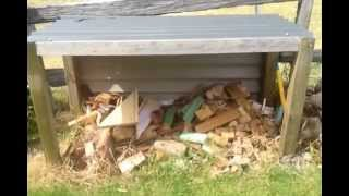 How To: Fire Wood Storage Box