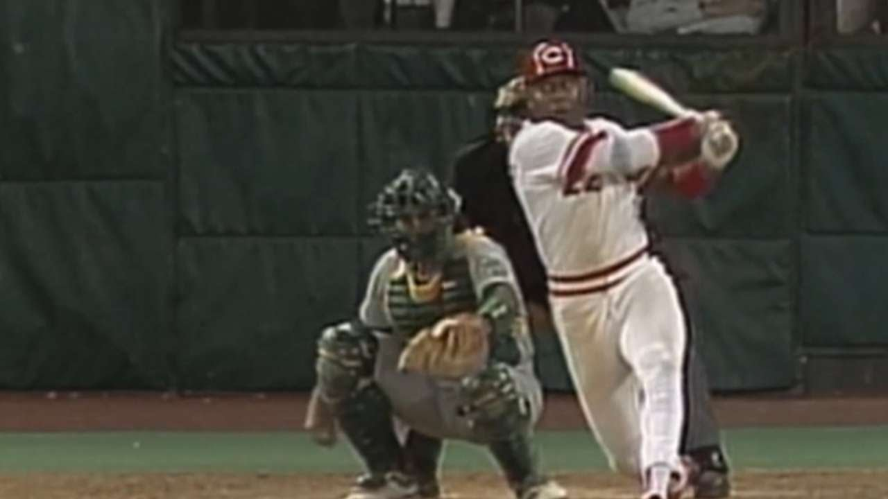 World Series 1990 Game 2: Hatcher gets four hits goes 7 for 7~MLB ECORD