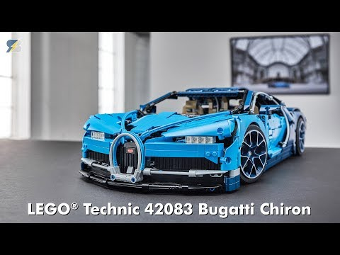 Bugatti Chiron Lego Technic 42083 Revealed Incl Instructions