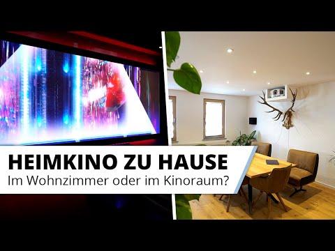 Eigenes Heimkino: Separater Kinoraum im Keller oder Heimkino im Wohnzimmer?