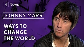 Johnny Marr on Morrissey, why he hates politicians and the Manchester attack