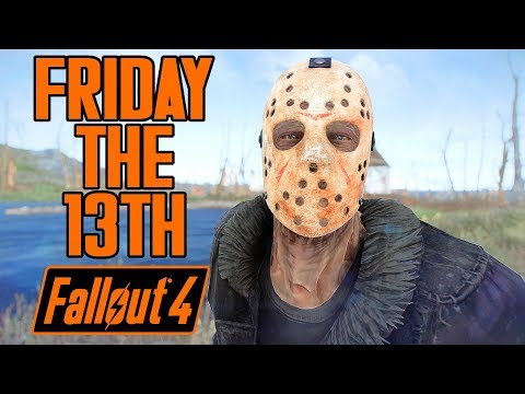 Fallout 4 - Friday the 13th - Hockey Mask, Boss, & Camp - Xbox & PC Mod