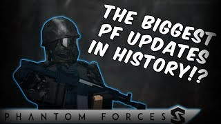 The BIGGEST Updates In Phantom Forces (Roblox)