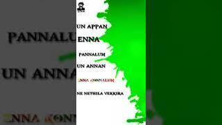 Siriki mavale album song green screen lyrics in tamil