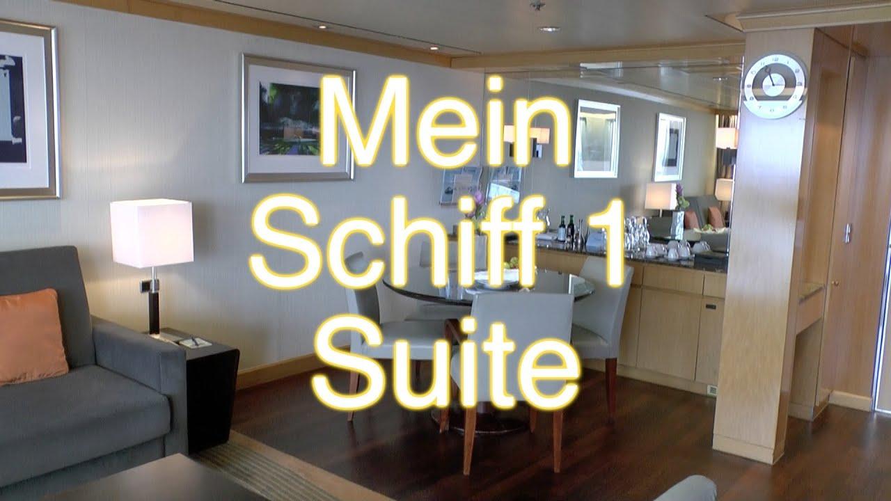Schön Mein Schiff 1: Suite Veranda Im Detail Bei TUI Cruises   YouTube