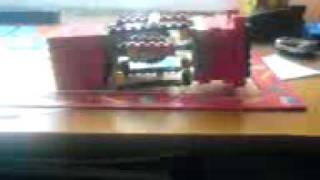 silnik z lego