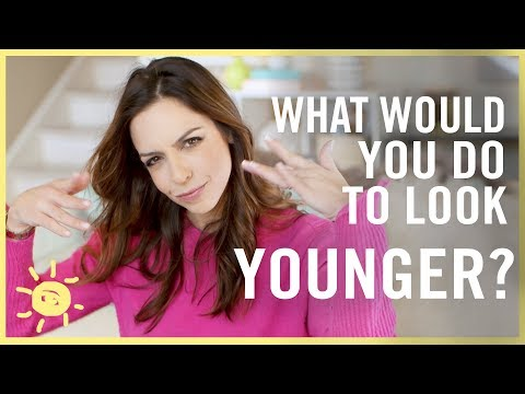 WHAT WOULD YOU DO TO LOOK YOUNGER? (Funny Clinique Ad)