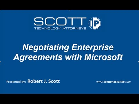 2017 Negotiating Enterprise Agreements with Microsoft