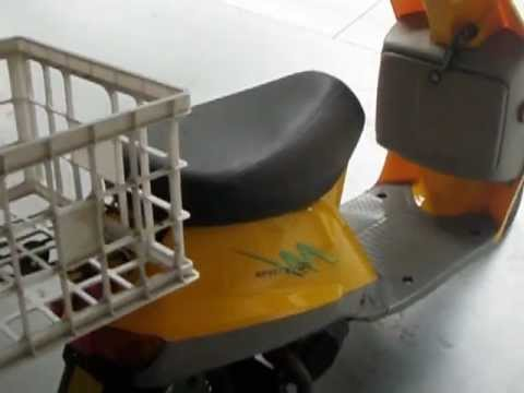 Qingqi 50cc 2 Stroke Scooter For Sale Youtube