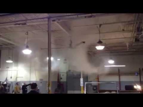 Skyblade Destratification Smoke Demonstration Youtube