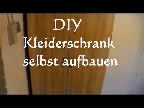Anleitung Kleiderschrank Aufbauen - Schrank Zusammenbauen - Möbel Aufbauen Tipps