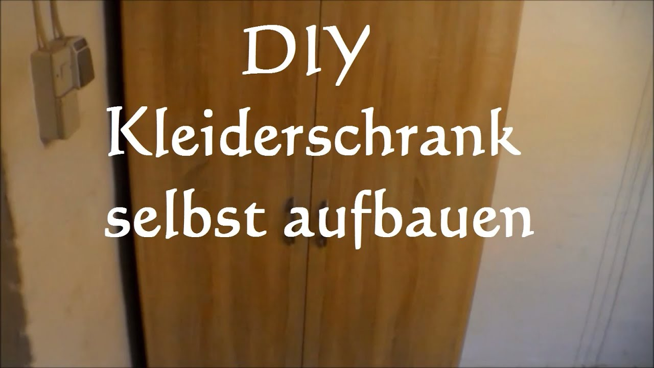 anleitung kleiderschrank aufbauen schrank zusammenbauen m bel aufbauen tipps youtube. Black Bedroom Furniture Sets. Home Design Ideas