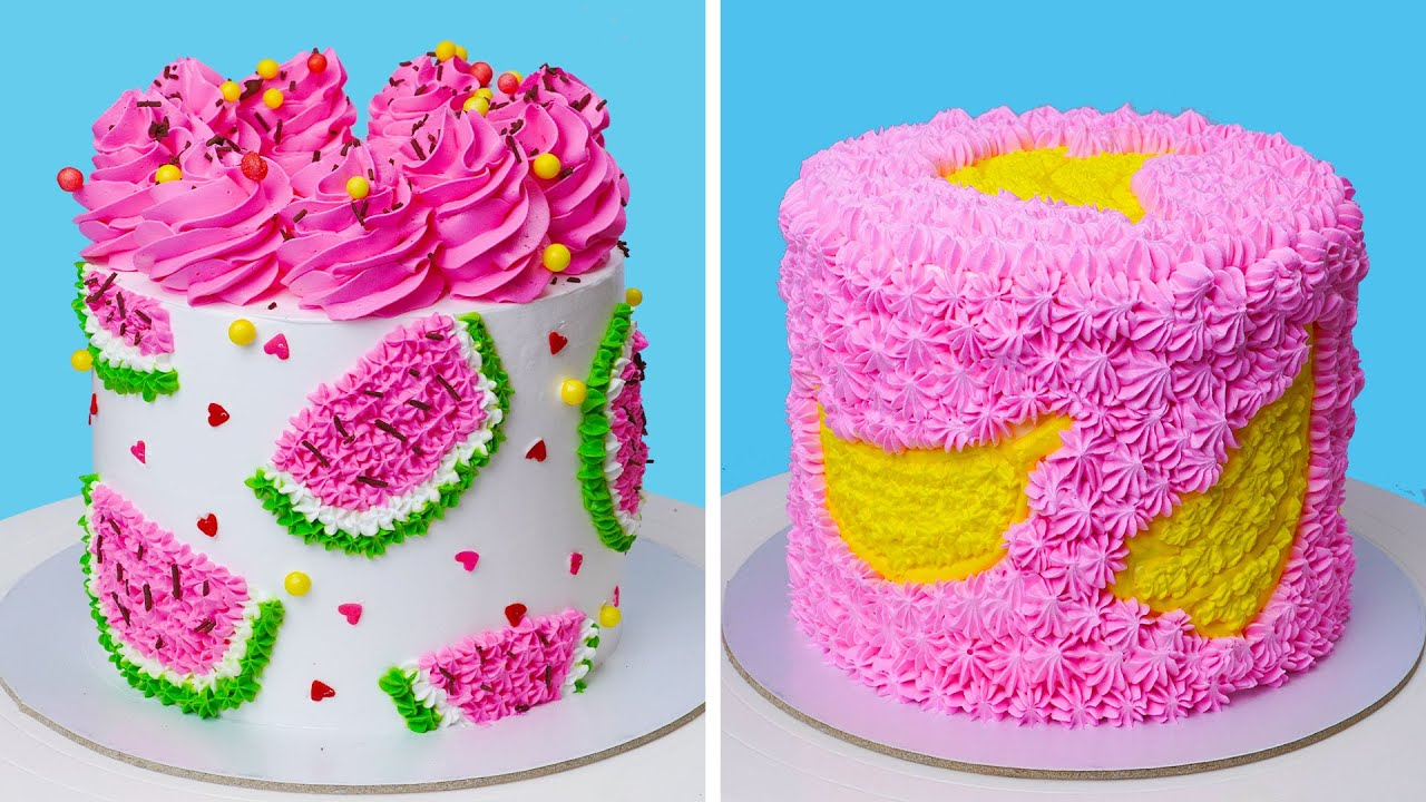 Best Colorful Cake in the World | Perfect Colorful Cake Decorating Ideas | Extreme Cake
