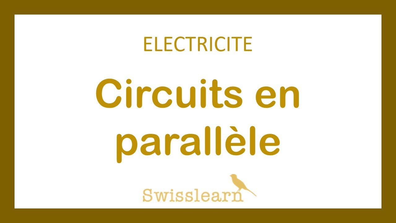 electricit circuits en parall le youtube rh youtube com