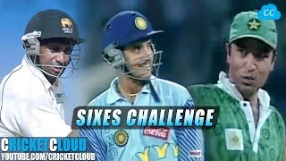 Ganguly Anwar Jayasuriya 2,3,4 SIXES IN A ROW CHALLENGE   Please comment your Fav !!