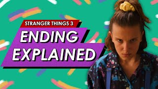 Stranger Things 3: Ending Explained Review, Post Credits Scene Breakdown + Season 4 Predictions