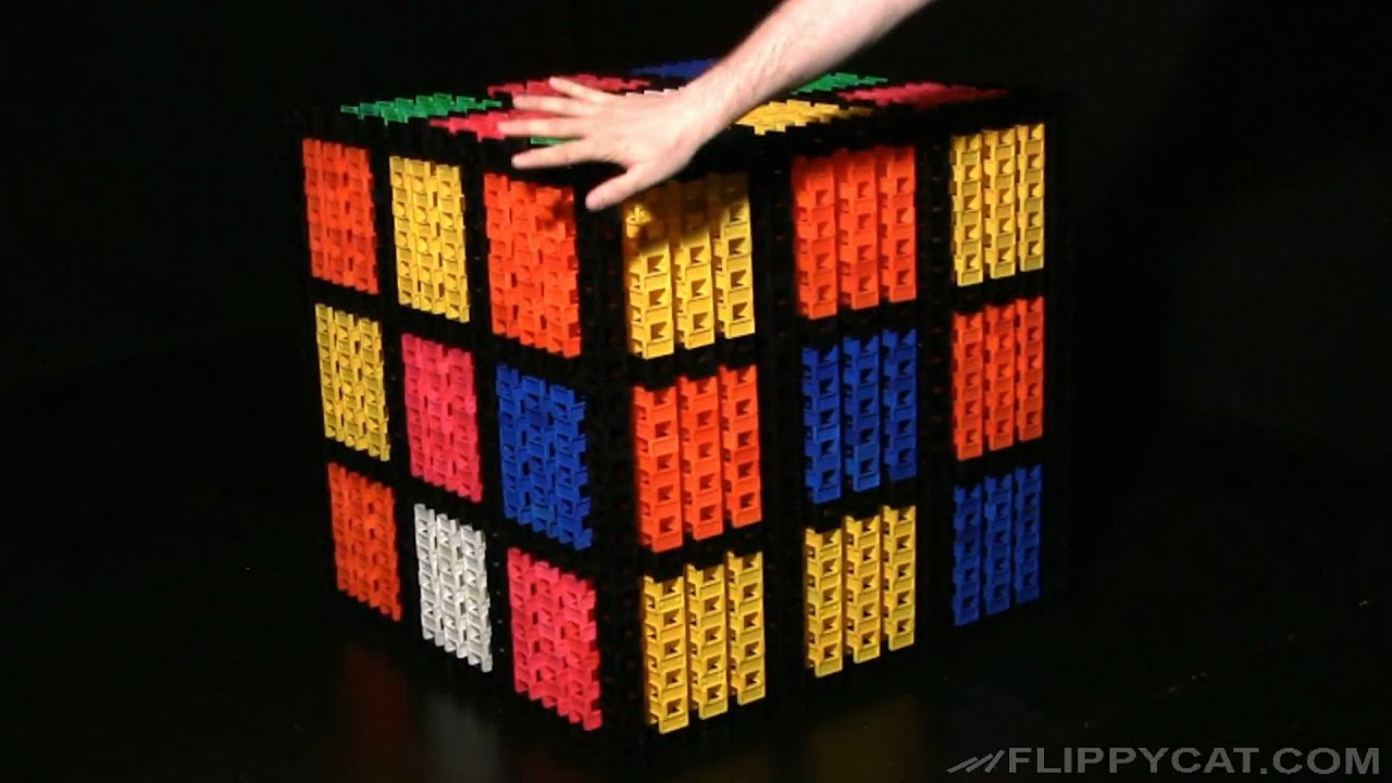 Giant Rubik 39 S Cube Solved Youtube