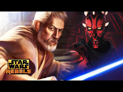 Star Wars Rebels Season 3 - Darth Maul vs Obi-Wan NEW DETAILS!  Maul's Fate! New Episodes Revealed!