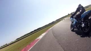 Snetterton 6th June Inters Crash & Loose Bike