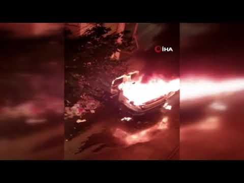 Diyarbakır'da Bağlar Belediyesinin temizlik aracına saldırı